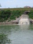 Pritoka kanalizacija / Slapovi Save